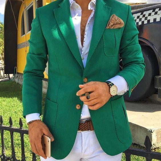 Blazers De Colores En 2019 Moda Hombre Ropa Formal Hombre