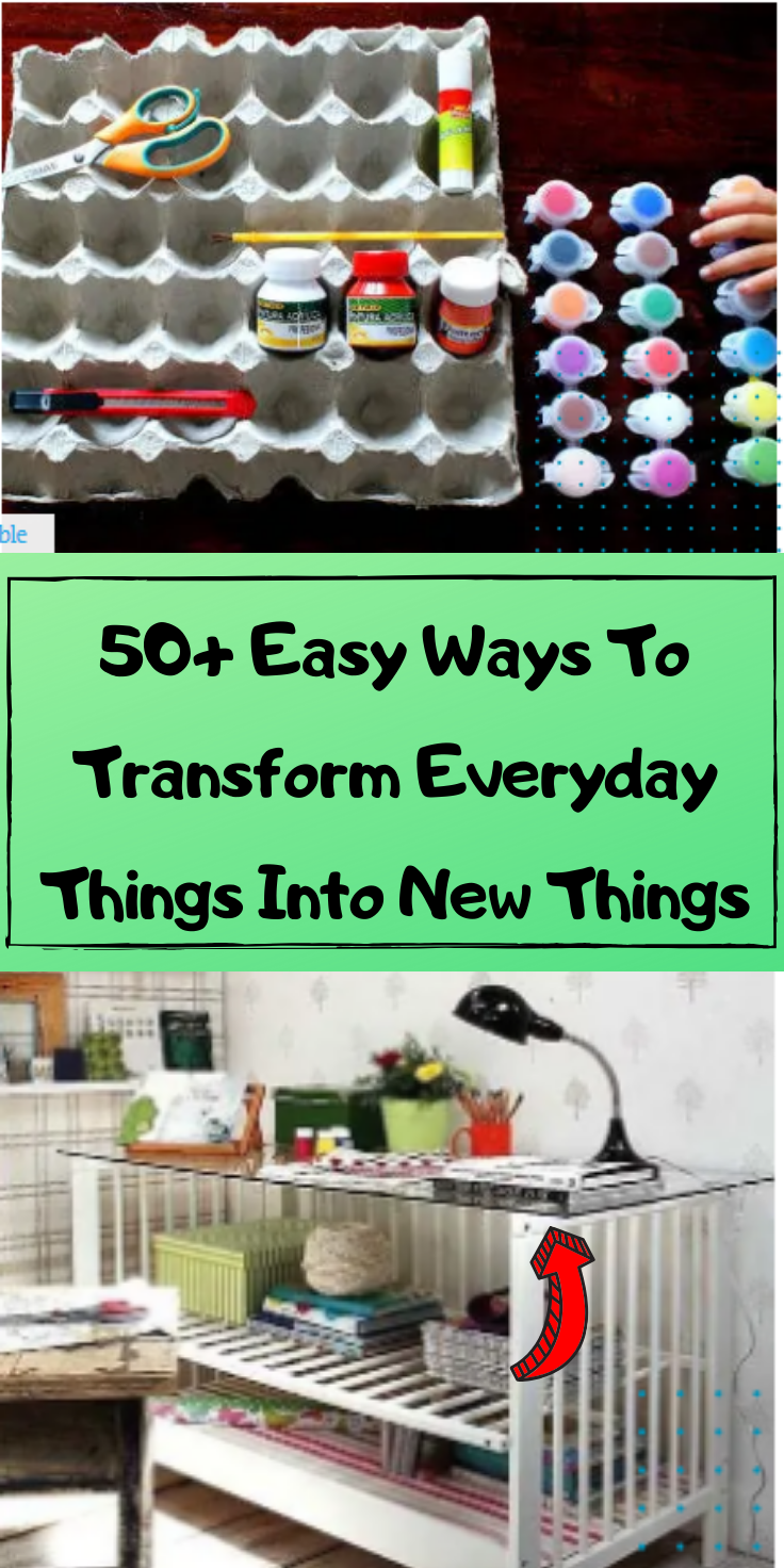 50+ Easy Ways To Transform Everyday Things Into New Things