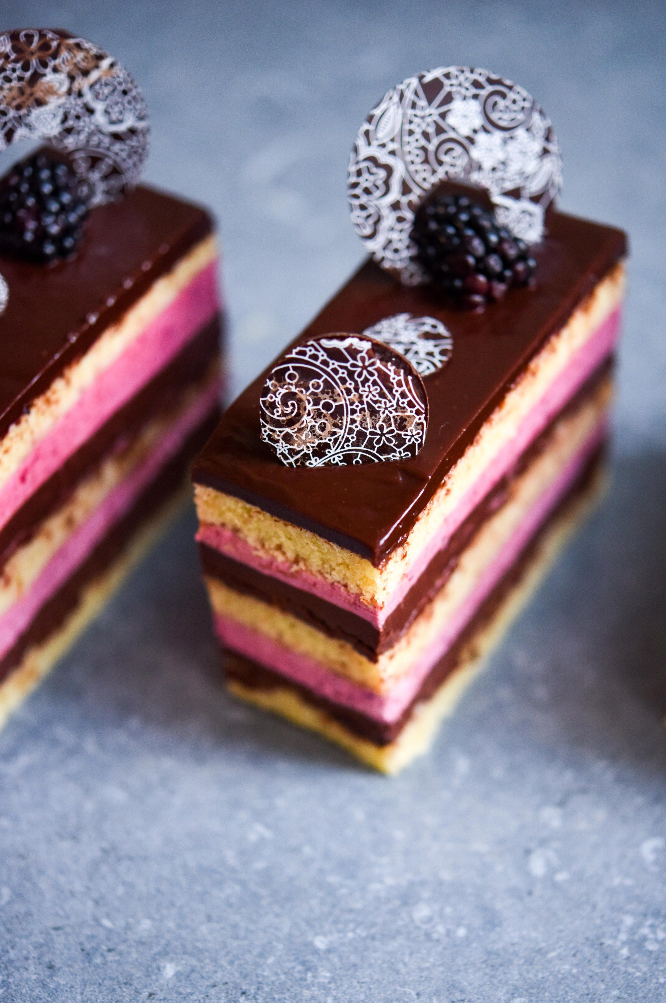 Photo of Create the most beautiful opera cake ever | Patisserie Makes Perfect