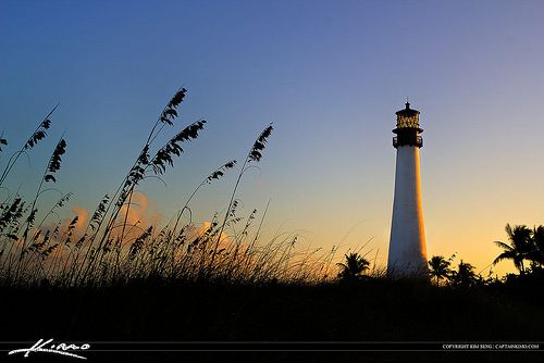 Cape Florida Lighthouse Key Biscayne | Flickr - Photo Sharing!