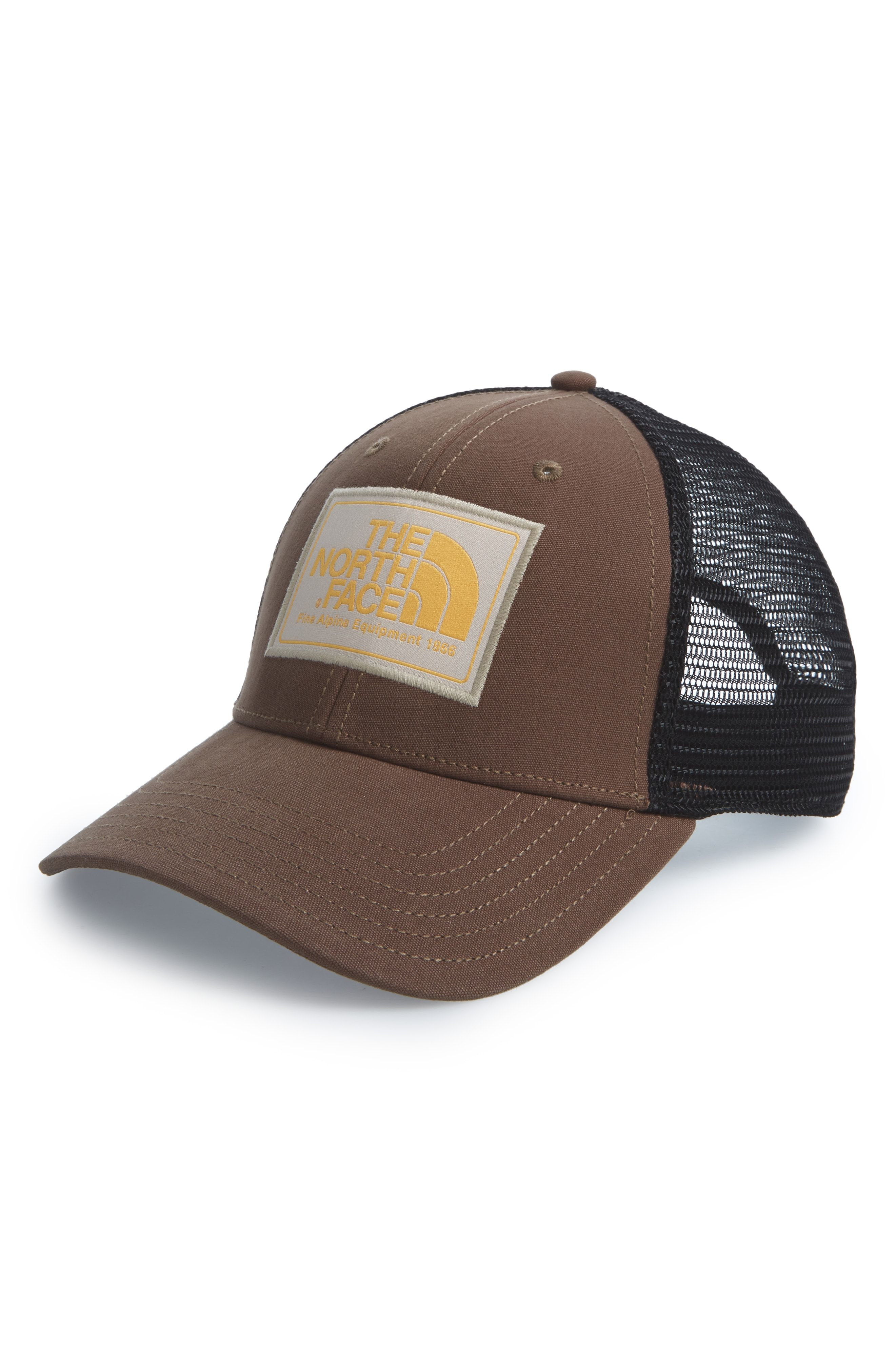 8adb27956 THE NORTH FACE MUDDER TRUCKER HAT - GREEN. #thenorthface | The North ...