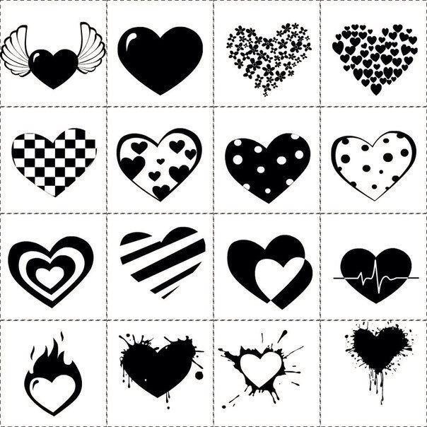 смайлики для распечатки картинки черно-белые