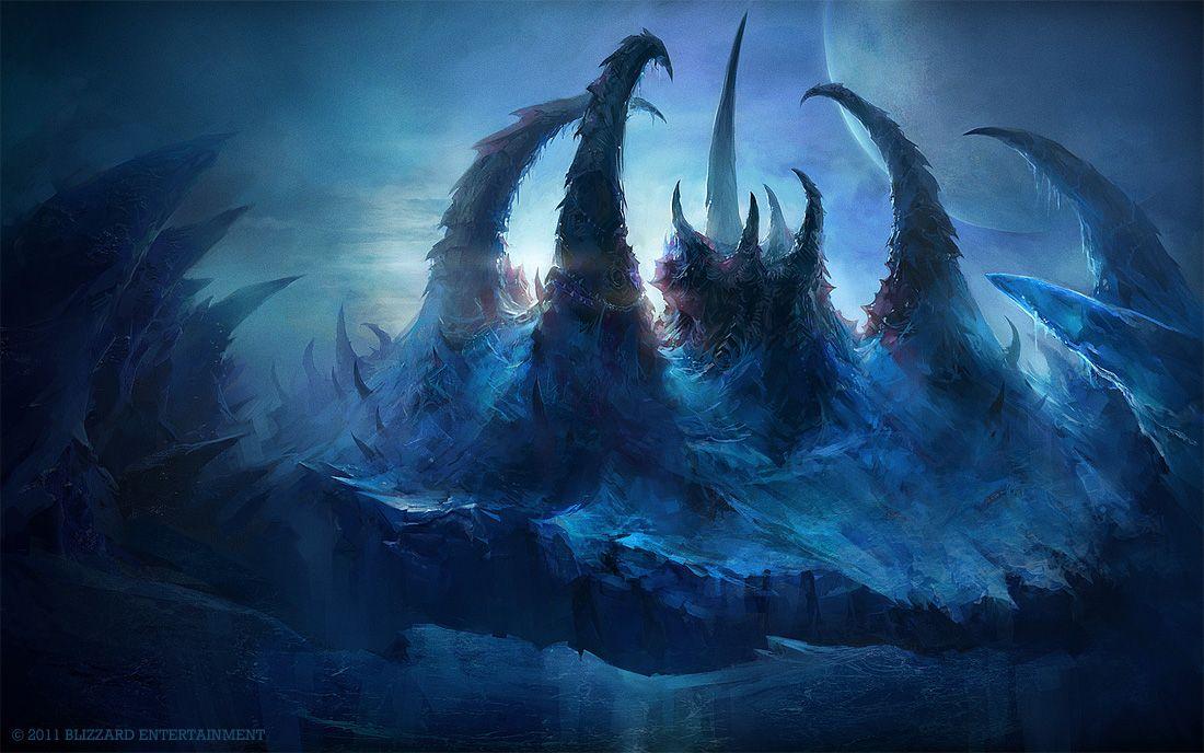 Frozen Hive | Starcraft, Concept art world, Concept art