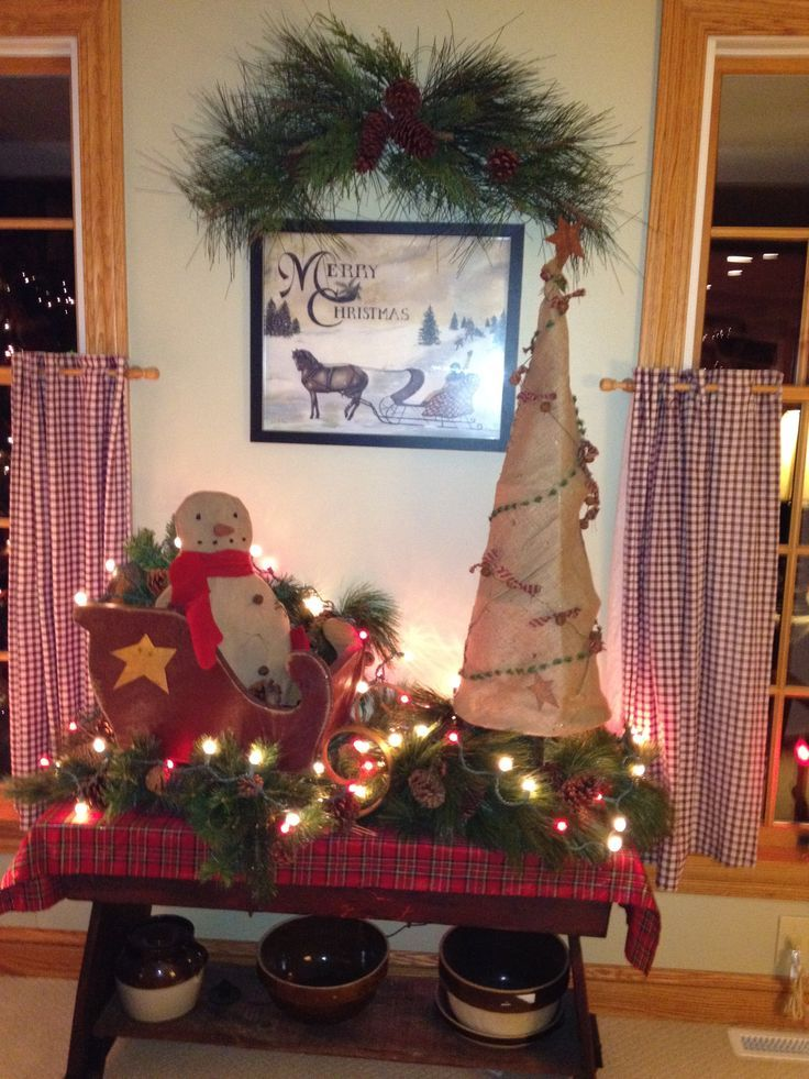 42 Country Christmas Decorations Ideas You Can\u0027t Miss Country - country christmas decorations