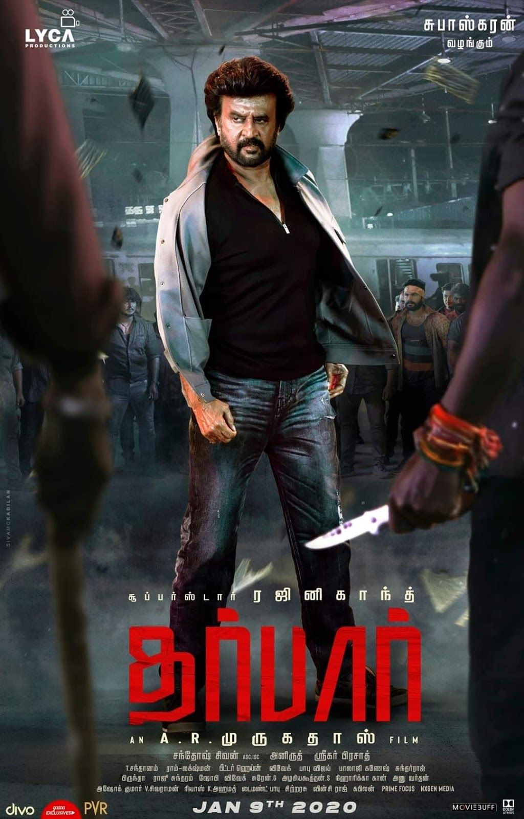 New Poster Of Superstar Rajnikanth Darbar In 2020 New Hindi Movie Latest Hindi Movies Hindi Movies Online