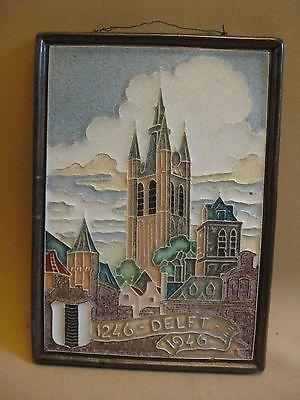 Pottery & Glass Porceleyne Fles Delft Tile Zierikzee