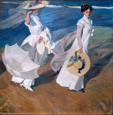 Sorolla - His handling of the interplay of light on whites is unparallelled. Cheers! - Nina Whidden