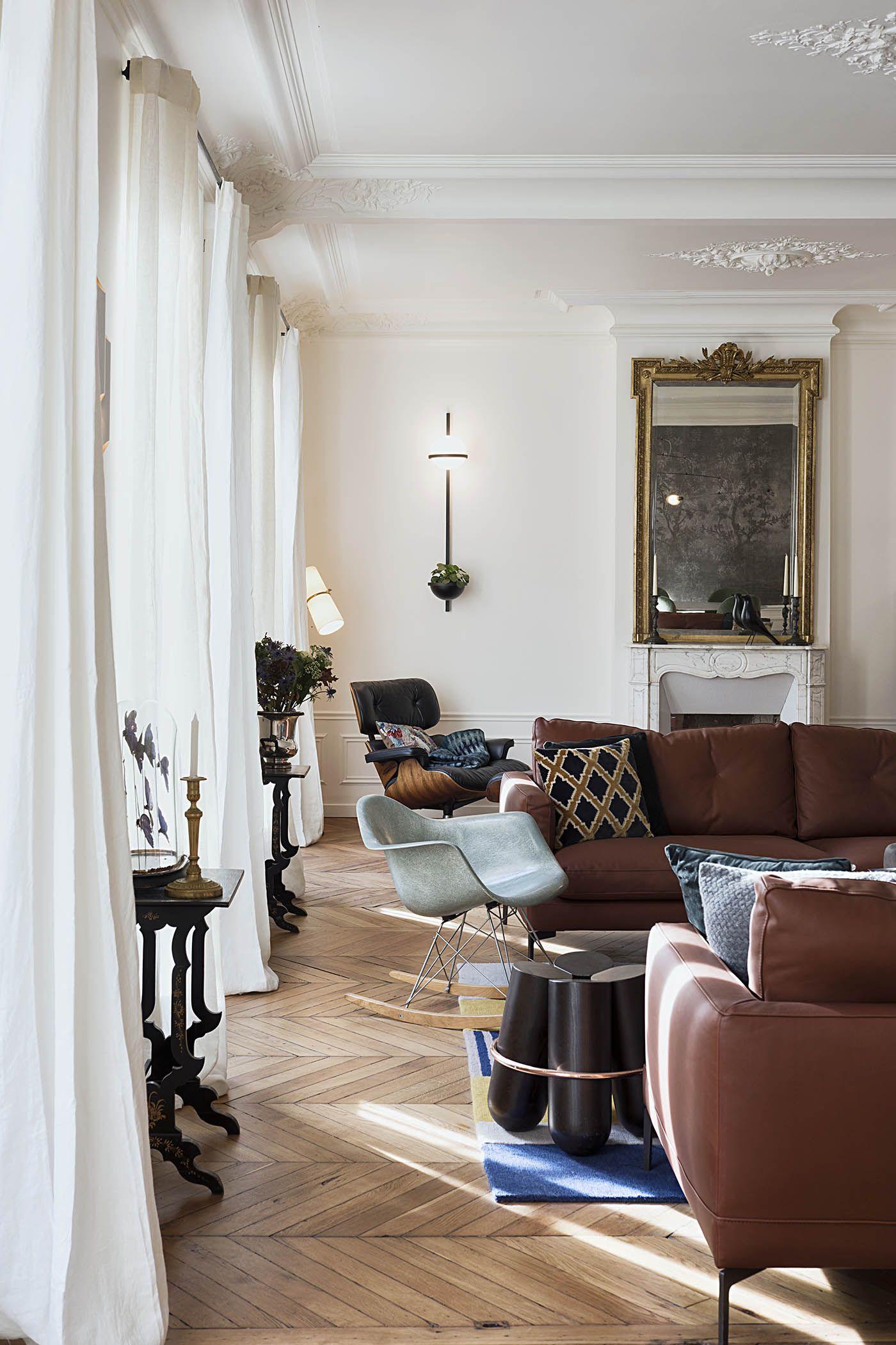 Appartement Paris 10 10surdix In 2020 Salon Interior Design Interior Design Color Schemes Interior Design Books