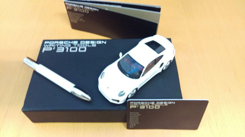 Porsche Design Writing Tools  P'3100 - Gift set met Shake pen