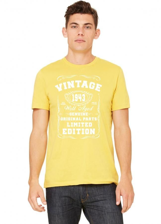 well aged original parts limited edition 1943 Tshirt
