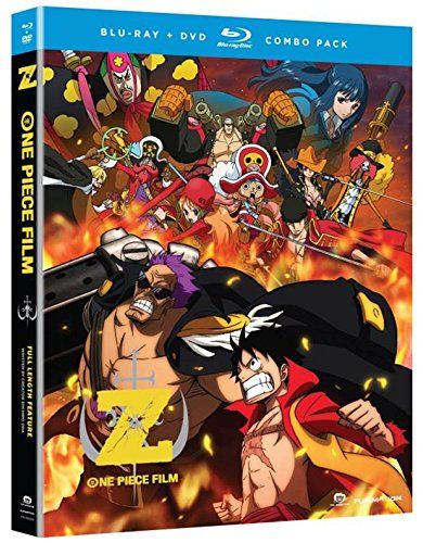 One Piece: Film Z (Blu-ray/DVD Combo) Funimation | Wishlist