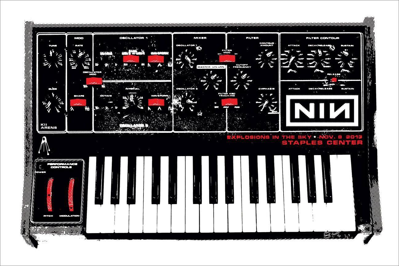 Nine Inch Nails Poster   Nine Inch Nails Artwork   Pinterest   Gig ...