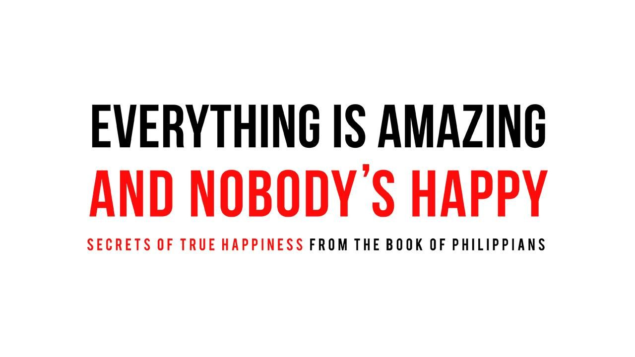 Everythings amazing and nobodys happy sermon series ideas find this pin and more on sermon series ideas ccuart Image collections
