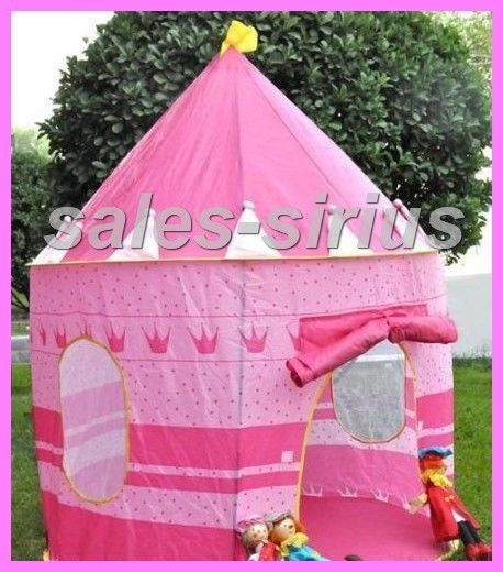 Childs Play Tent Princess Fun House Toddler Gift Castle Girls Pink Bed Room Kids
