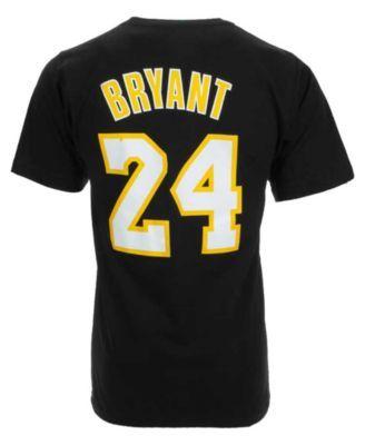202e1350d adidas Men s Los Angeles Lakers Kobe Bryant Player T-Shirt ...