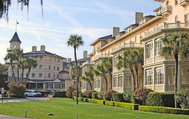 The Jekyll Island Club Resort Has Accommodations For Everyone Located Just Off Georgia Coast On Historic