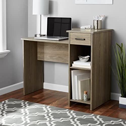 Amazing offer on Mainstays Student Desk Home Office Bedroom Furniture Indoor Desk, Rustic Oak online - Pptoplike