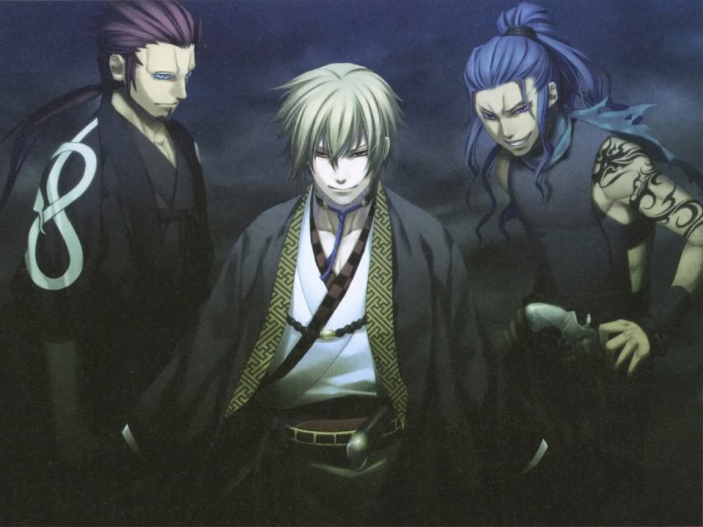 Oooh The Bad Guys Hakuouki Anime Anime Prince Anime Art