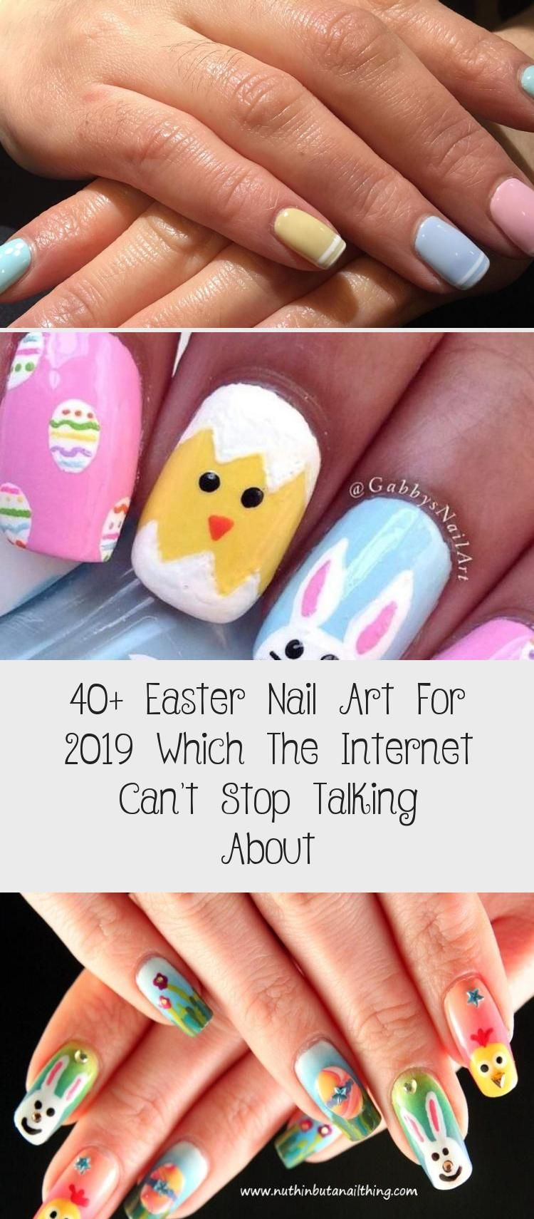 40+ Easter Nail Art For 2019 Which The Internet Can't Stop Talking About - Nail Art Desing