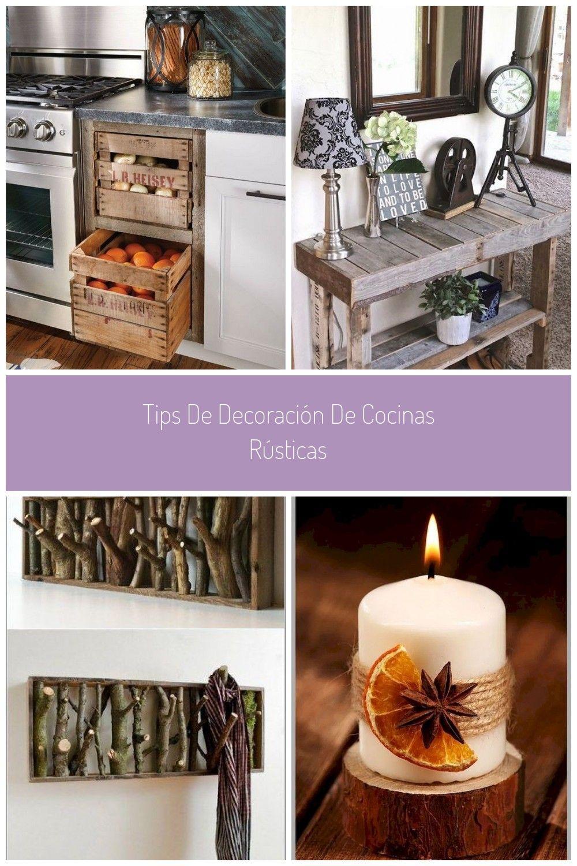 Photo of Tips de decoración de cocinas rústicas #decoracion rustica Tips d