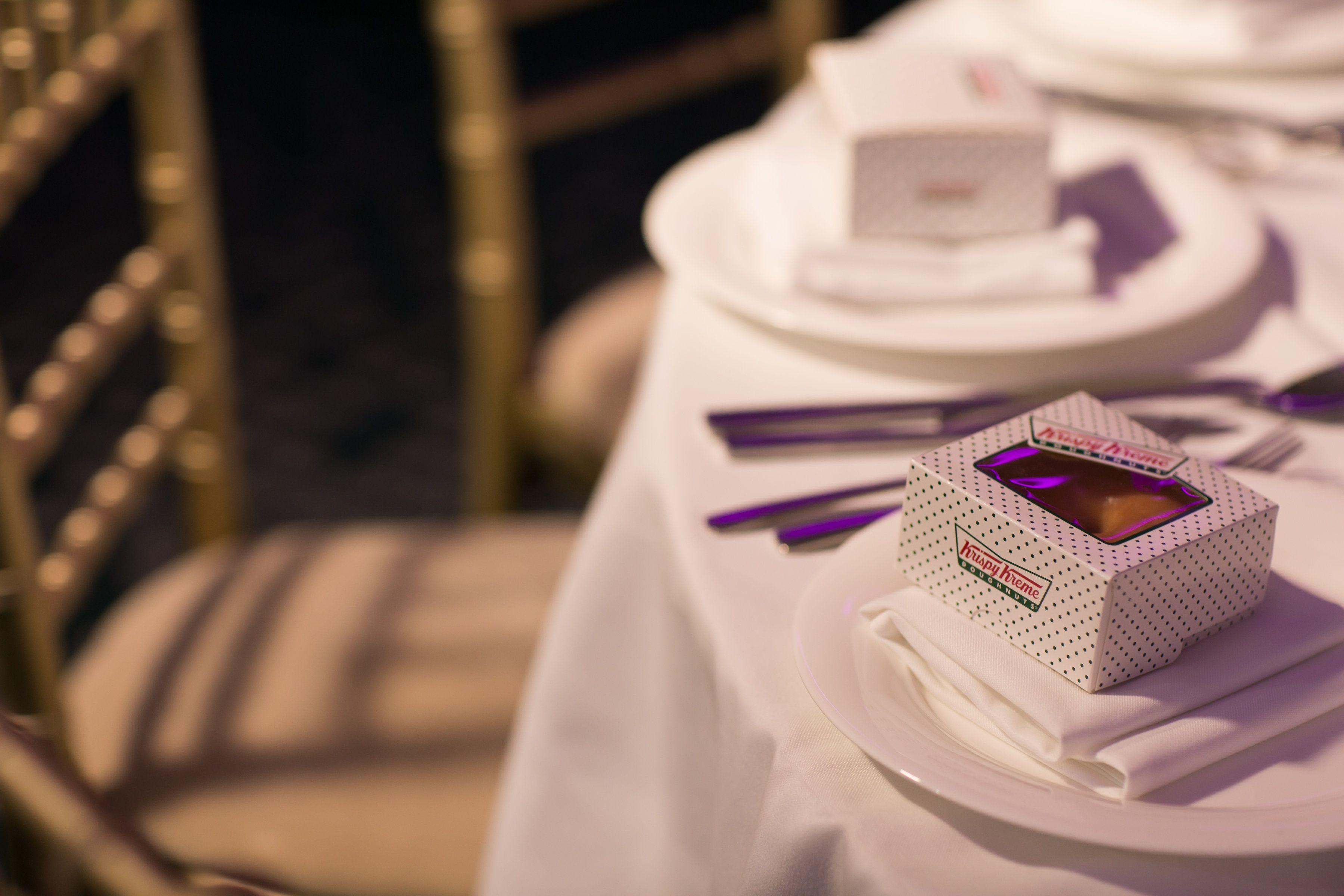 Wedding Favours Krispy Kreme Donuts Weddingfavours Edible