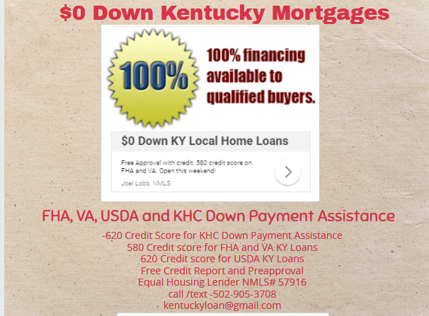 Credit Scores For Kentucky Mortgages Va Mortgage Loans Mortgage Loans Refinance Mortgage