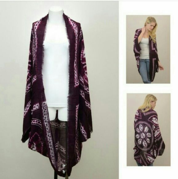 Fashion Mandala purple Kimono Scarves New in the package Never used One size 100% viscose Perfect for spring/summer season Soft and flowy gauze NZ Accessories Scarves & Wraps