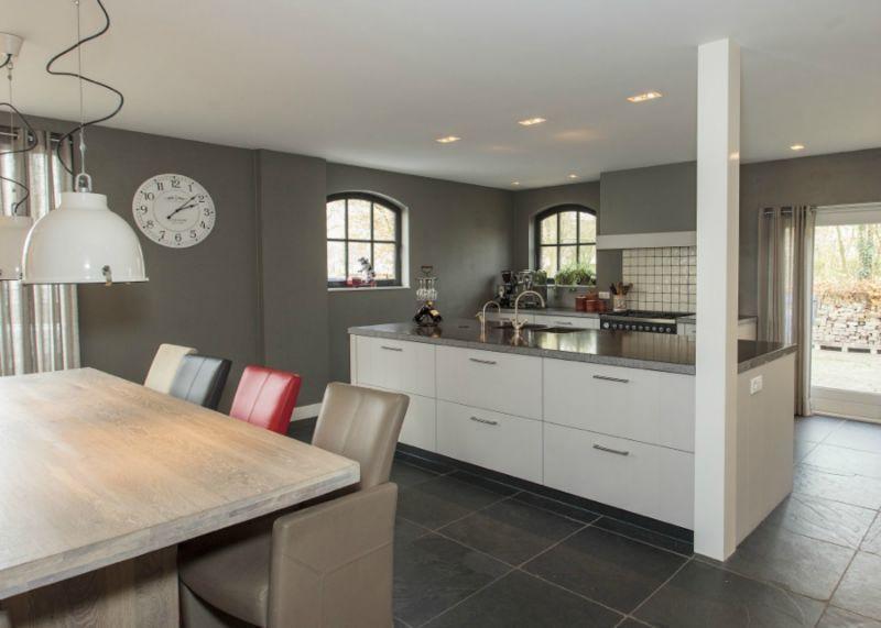 Moderne Open Keukens : Moderne open keuken google zoeken kleur achterwand keuken in