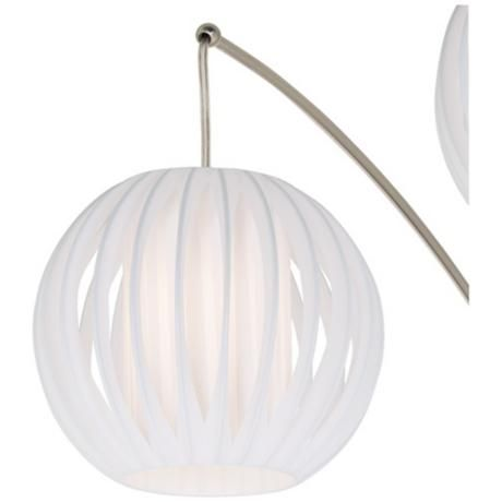 lite source deion 5light hanging arc floor lamp