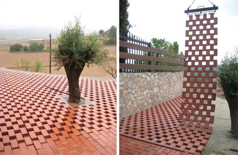 Flexbrick garden buscar con google ladrillo pinterest architecture tiles y landscape - Ladrillo ceramico perforado ...