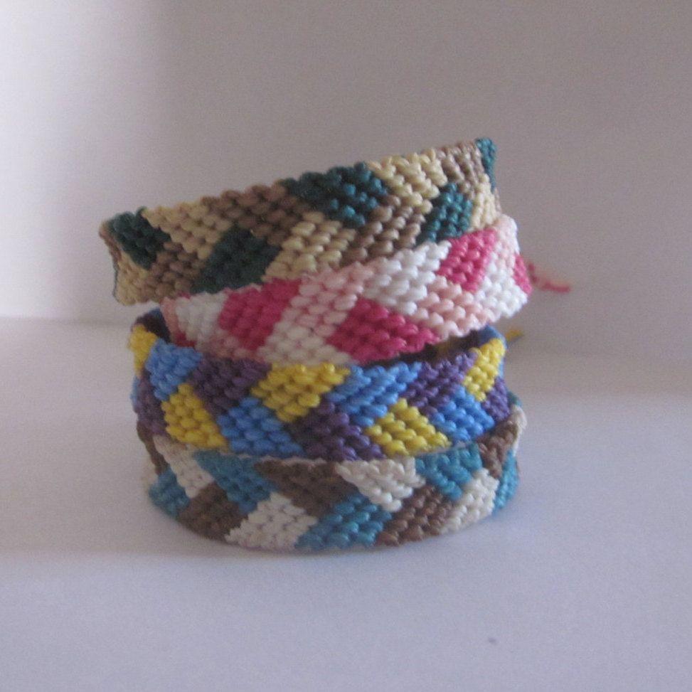 Braided Woven Friendship Bracelets