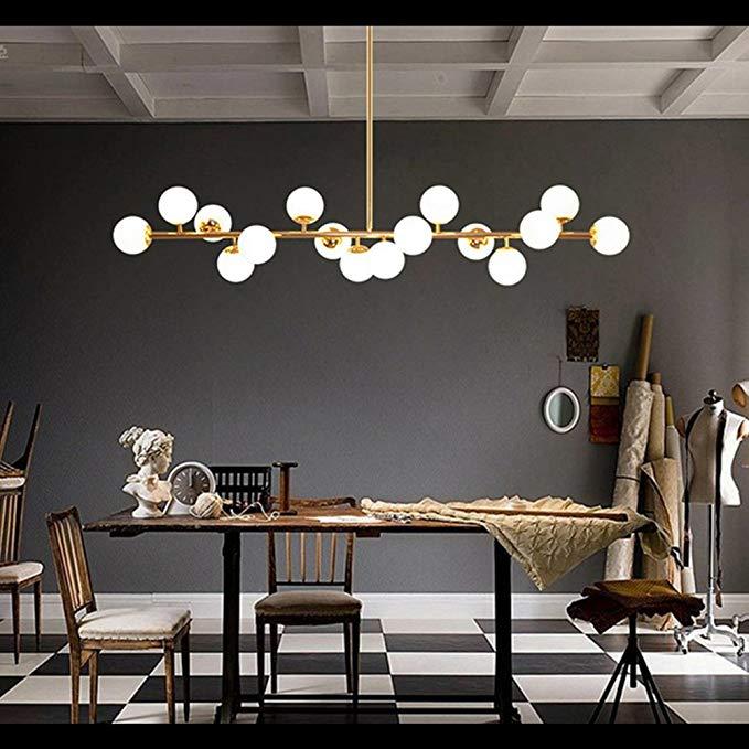 Fandian Post Modern Ceiling Light Led Chandelier Pendant Lamp Dna