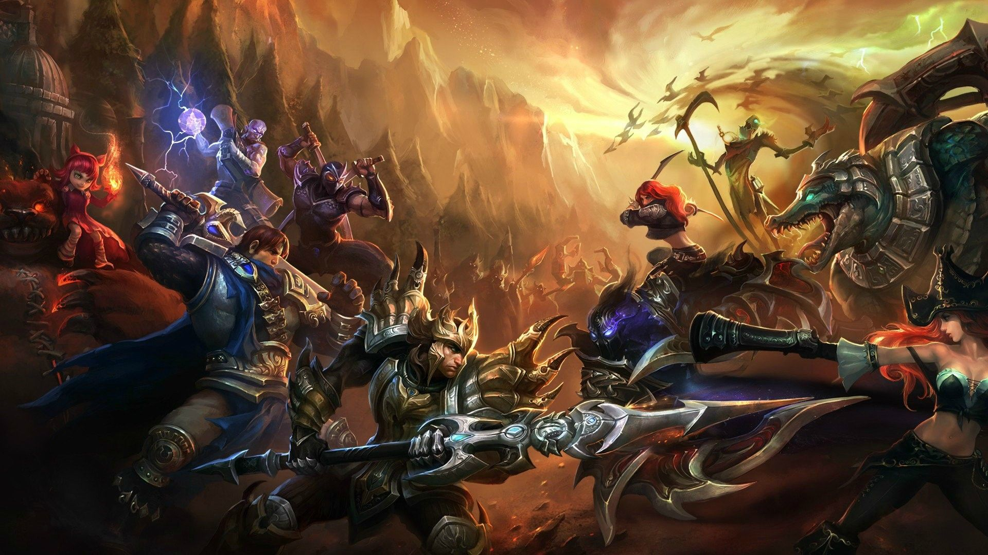 40 Best League of Legends Champion Wallpapers http