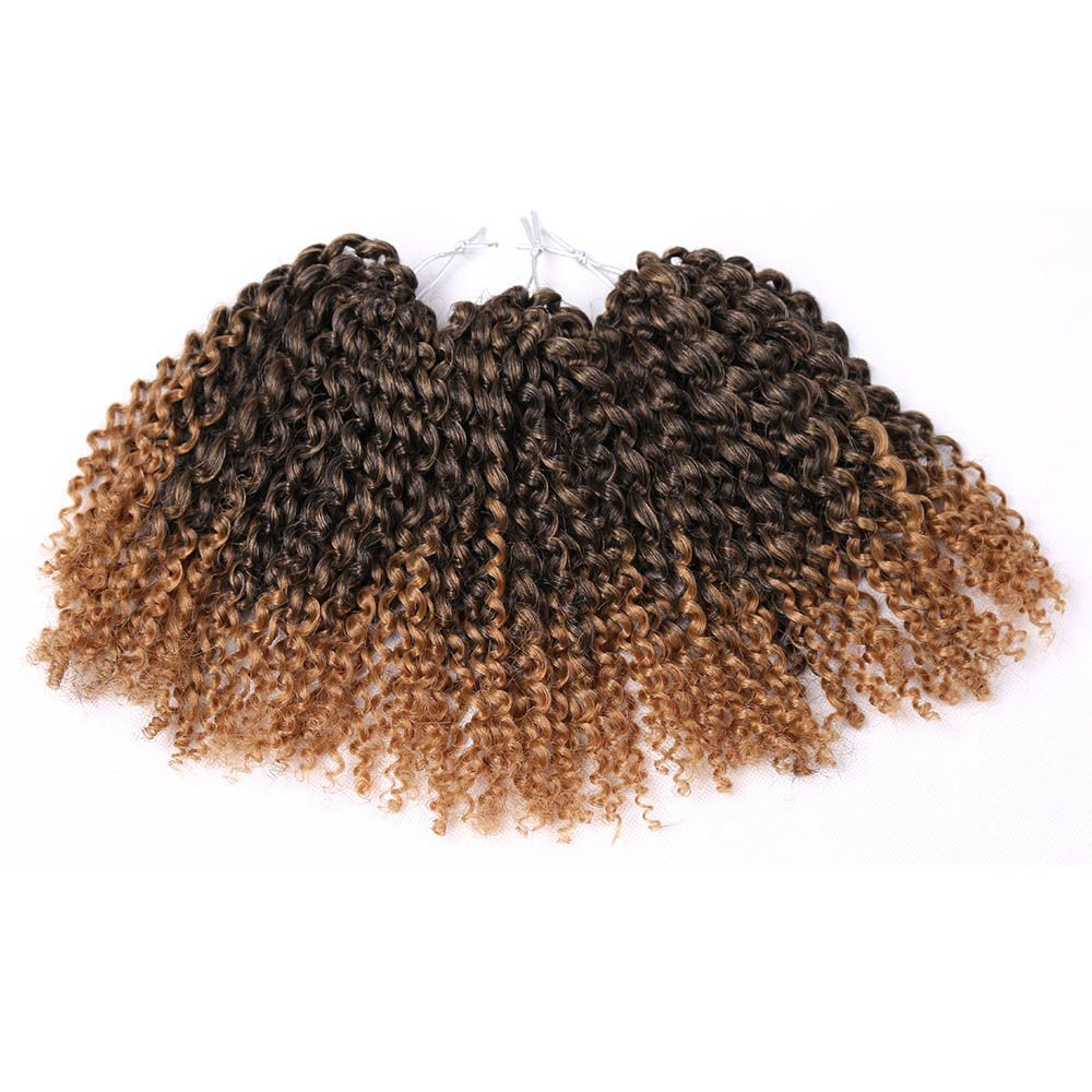 Amir crochet braids hair gpack synthetic inch marly braid ombre