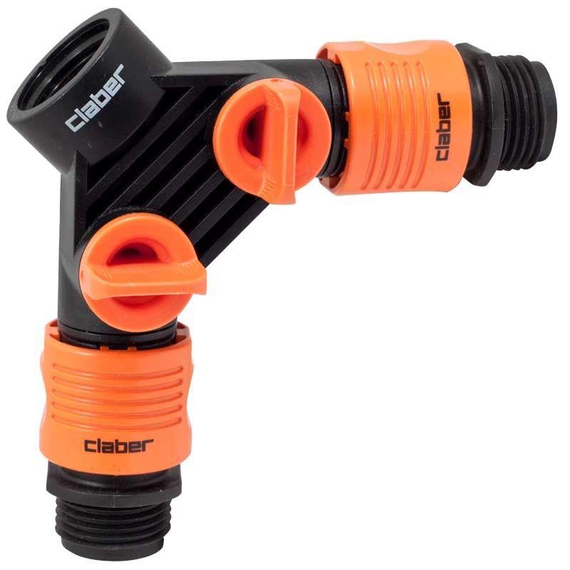 Claber Y Faucet Connector Irrigation supplies, Faucet