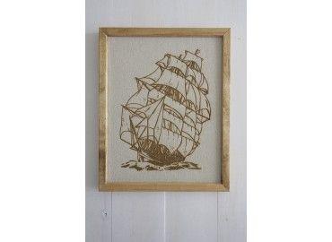 Ship Under Sail Print