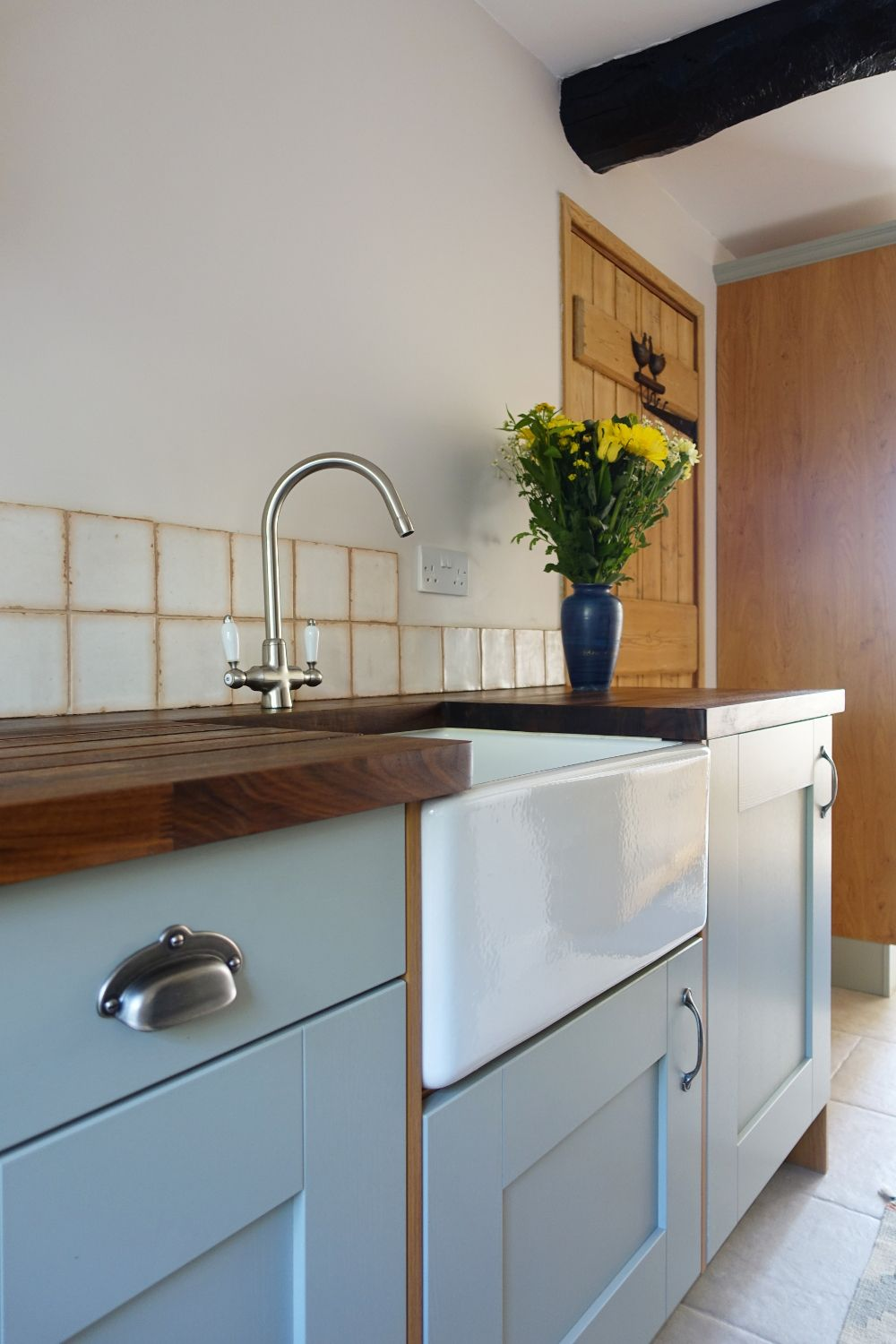 We Love This Belfast Ceramic Sink That Has Been Fitted In This