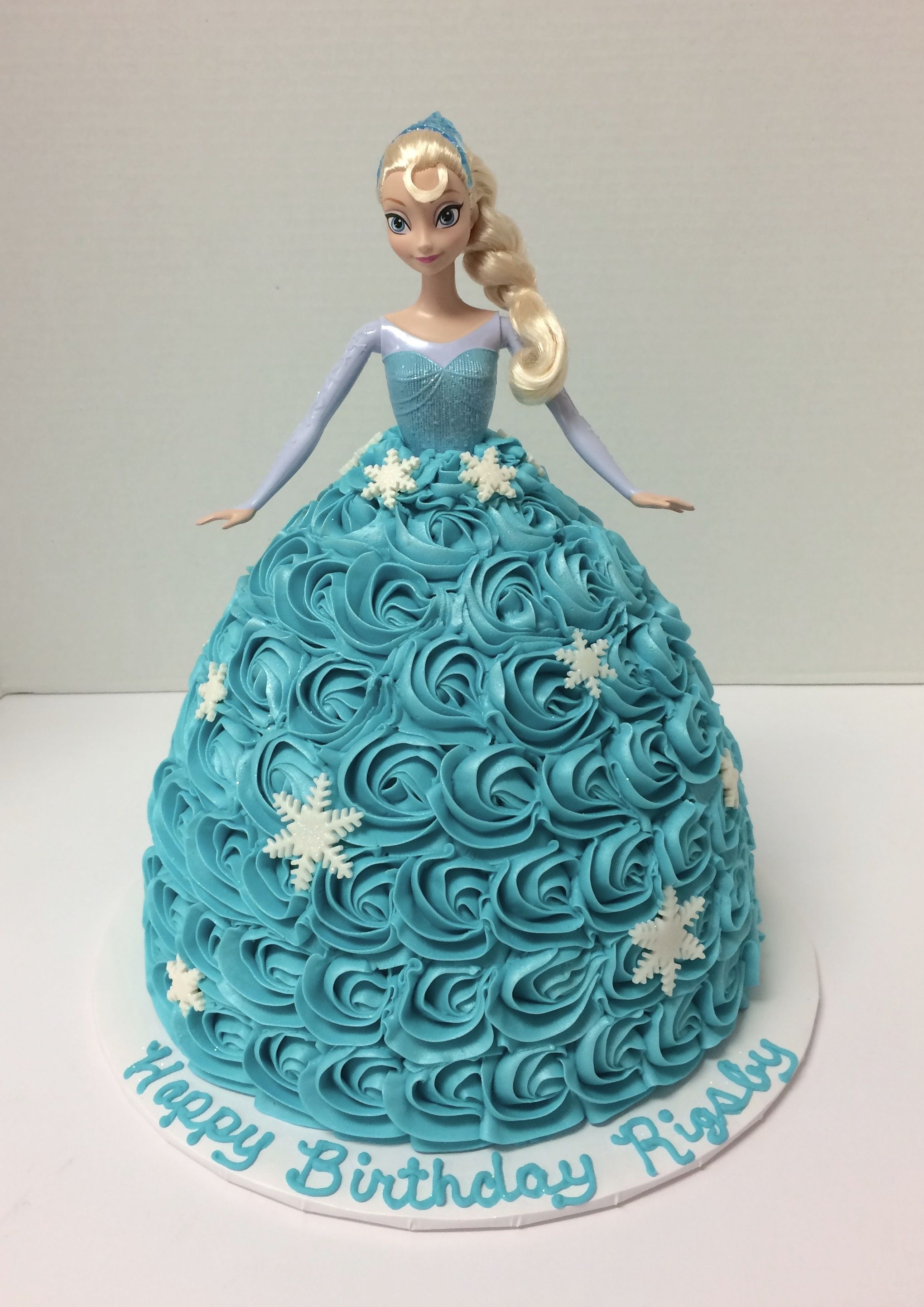 Elsa Doll Cake Baked Goods Sweet Treats Pinterest Elsa doll