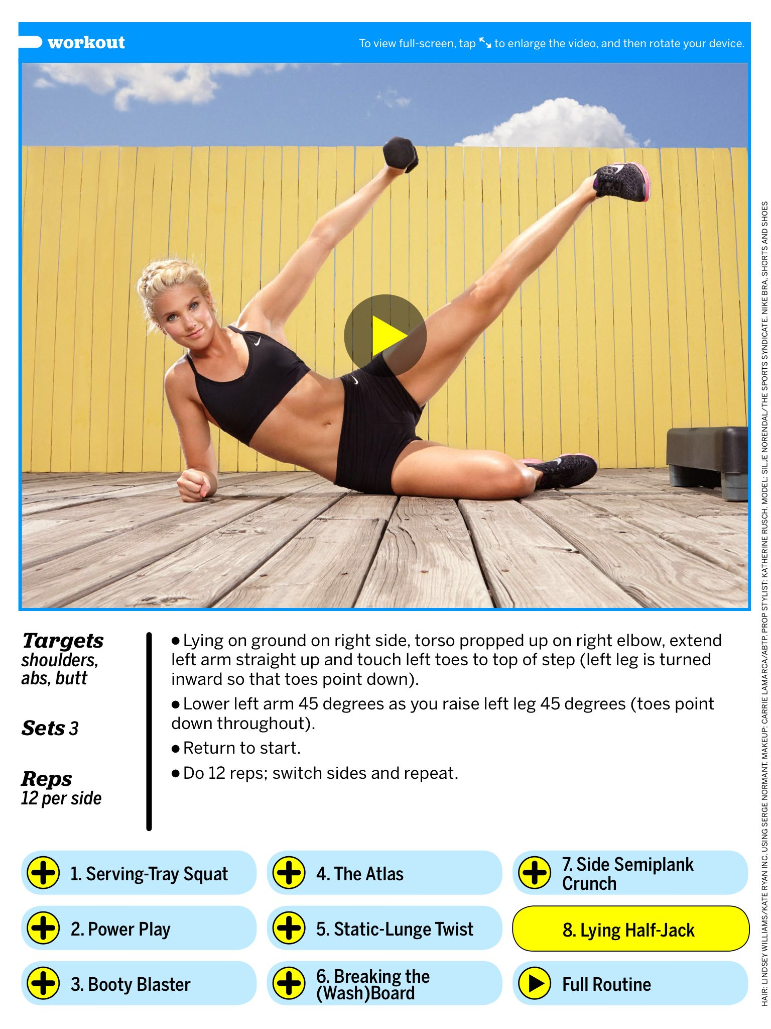 This Ladder Workout Scorches Through Fat Using Just Your Bodyweight images