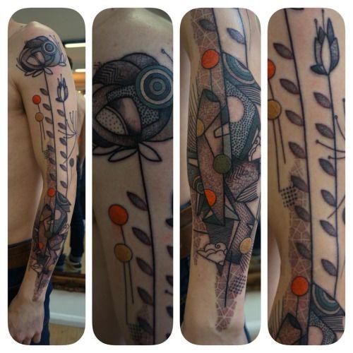 #noon#tattoo#art#illustration#floral#book#yep#frenchtouch#graphictattoo #artbruttattoo #avantgardetattoo