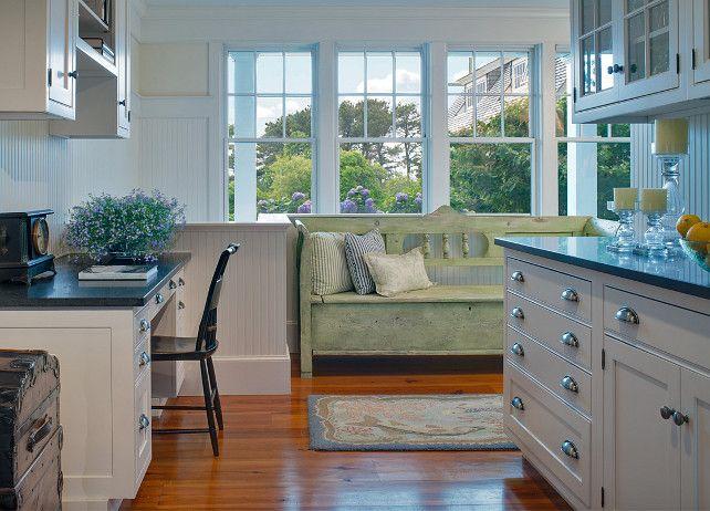 Marthas Vineyard Shingle Cottage With Coastal Interiors