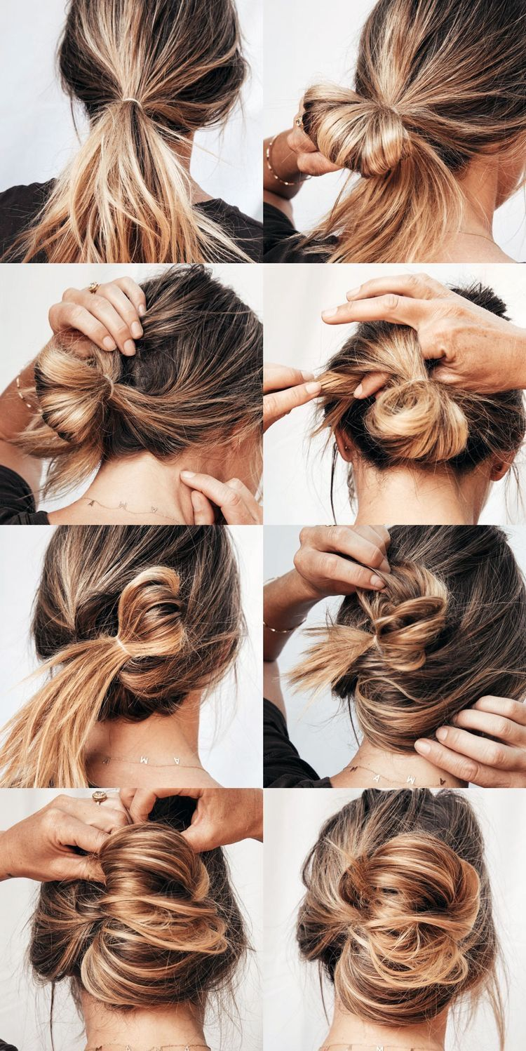 Huge 2020 Hairstyle List The 9 Hottest Trends To Be Obsessed With Ecemella In 2020 Hot Mess Hair Updos For Medium Length Hair Long Hair Styles