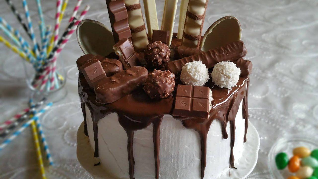 Pastel De Chocolate Paso A Paso Facil De Hacer Decoracion De Pastel De Chocolate Pastel De Nutella Tortas Bonitas