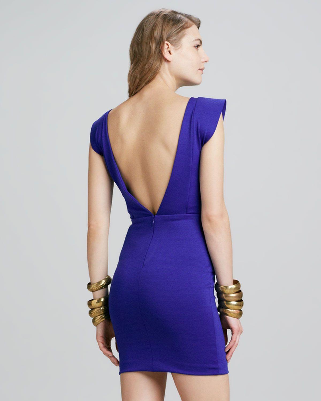 lovely open back dress | dresses | Pinterest