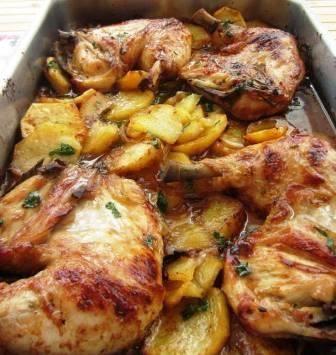 Pollo asado a la provenzal recetas faciles rapidas for Comidas rapidas caseras
