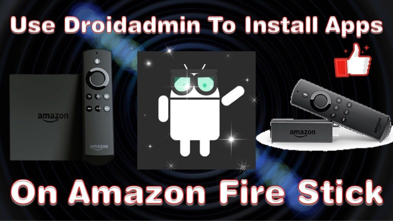 amazon fire tv install apps