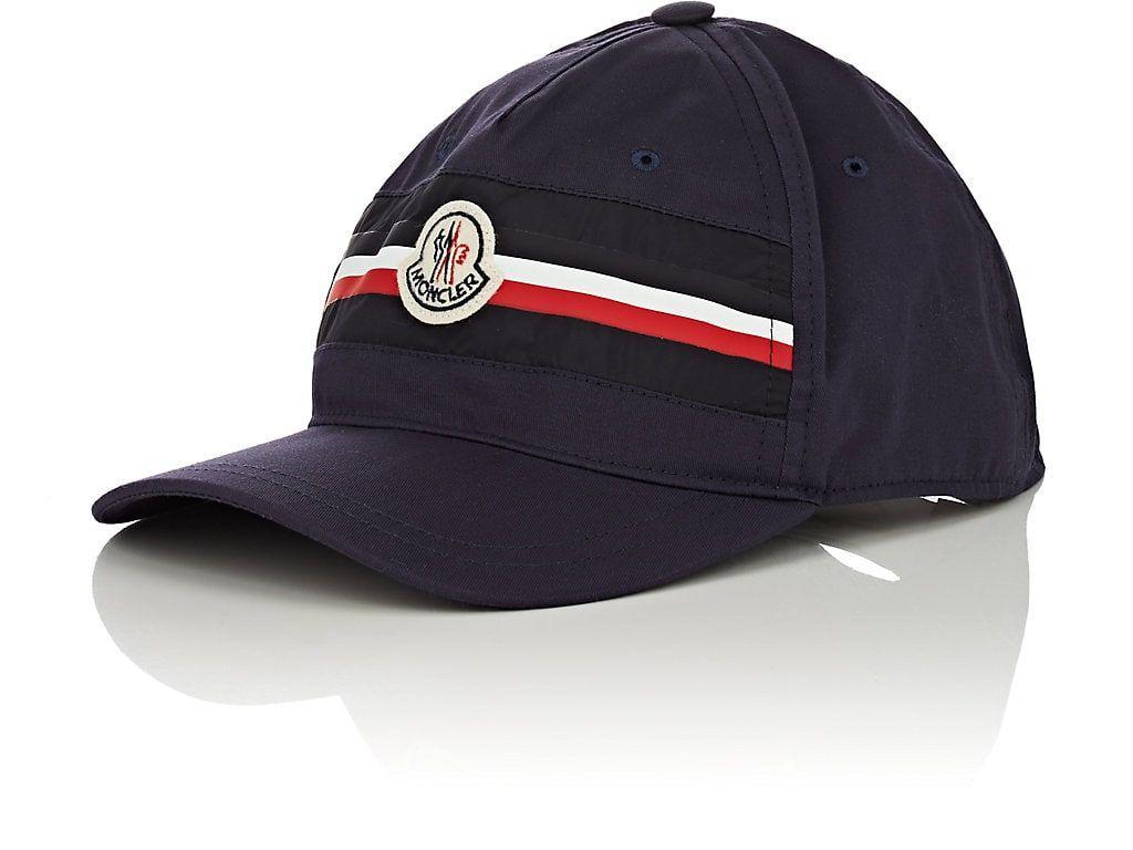 410a48de782 MONCLER Logo Cotton Baseball Cap.  moncler