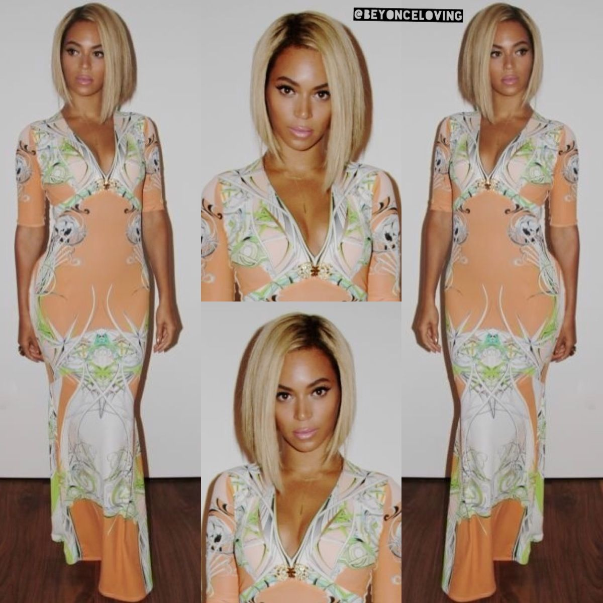 Beyoncethis bob sew in on her is everything curl up u dye