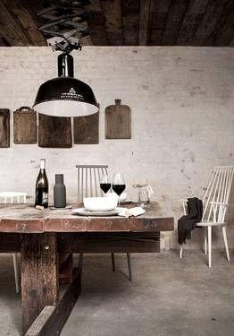 rustikaler minimalismus: höst in kopenhagen http://www.stylinrooms, Hause deko