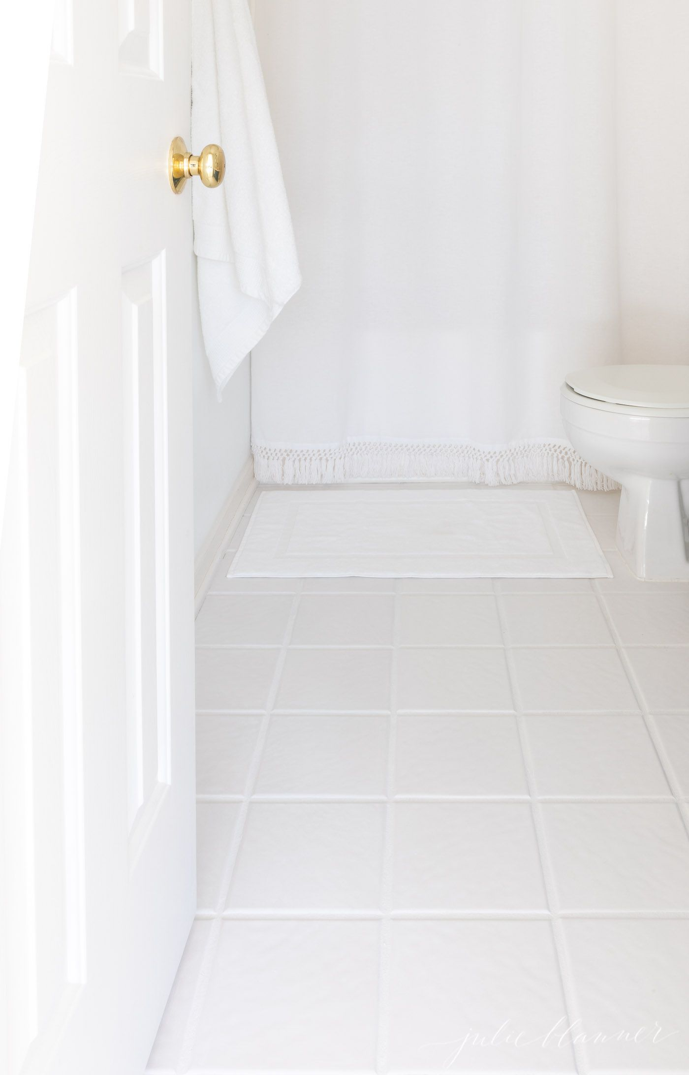 The Ultimate Tile Grout Refresh with Grout Stain Julie